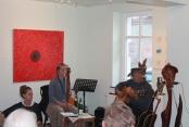 Finissage in der Galerie in Mirow