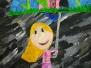 Ich - im Regen