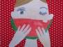 Ich - Melone essend