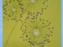Pusteblumen auf Gelb