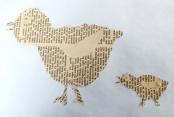 Sabines Hühnerfamilie