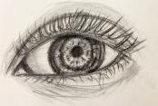 Kirstins Auge