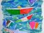 Schiffchenbilder Collage