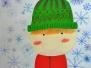 Winterkinder nach Ekaterina Tukhan